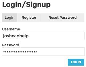 Product Hunt WordPress - Rank It WP - Front-end Login